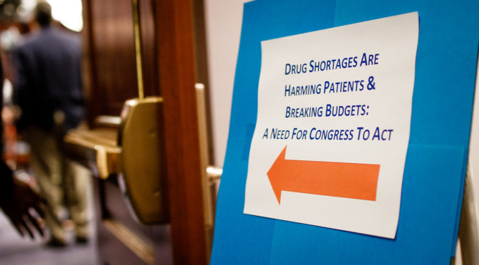 My Trip to Washington: Speaking Out Against Drug Shortages